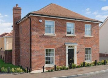 Thumbnail 4 bed detached house for sale in Culloden Avenue, Costessey, Norwich
