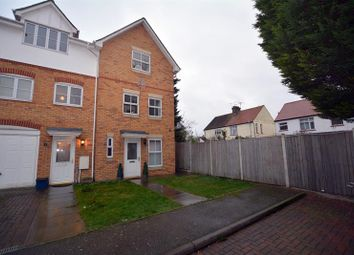Thumbnail 4 bedroom end terrace house for sale in Grovelands, Seaforth Grove, Southchurch, Southend-On-Sea