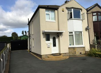 Thumbnail 3 bed semi-detached house for sale in Crowther Avenue, Calverley, Pudsey