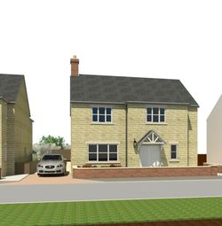 Thumbnail 4 bed detached house for sale in Chapel Street, Warmington, Peterborough