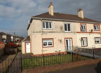 Thumbnail 2 bed flat to rent in Halkett Place, Saltcoats