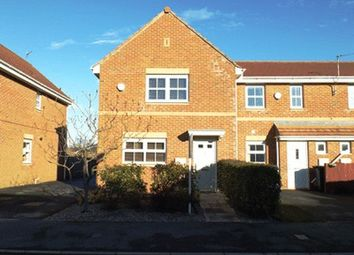 Thumbnail 3 bed end terrace house to rent in Parkside Gardens, Widdrington, Morpeth