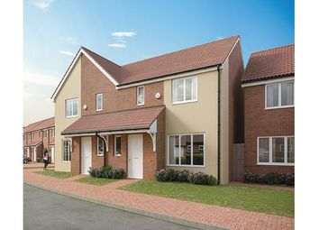 Thumbnail 2 bed semi-detached house for sale in Plots 230 Hill Barton Vale, Myrtlebury Way, Exeter, Devon