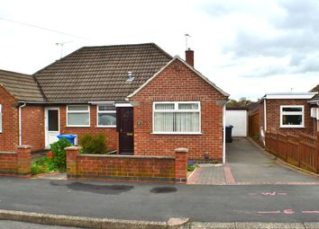 Thumbnail 2 bed semi-detached bungalow to rent in Brooklands Drive, Littleover, Derby