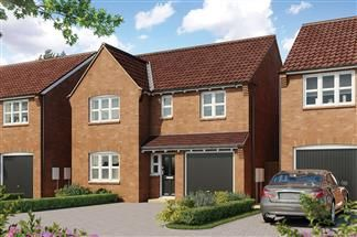 Thumbnail 4 bed detached house for sale in Southwell Road, Farnsfield