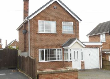 Thumbnail 3 bed detached house to rent in Cadgwith Drive, Allestree, Derby