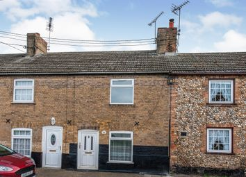 Thumbnail 2 bed terraced house for sale in Oak Street, Feltwell, Thetford