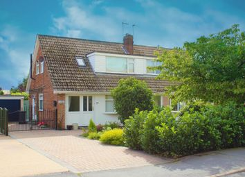 Thumbnail 3 bed semi-detached bungalow for sale in Brigg Lane, Camblesforth, Selby