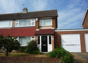 Thumbnail 3 bed semi-detached house to rent in Vigilant Way, Riverview Park, Gravesend