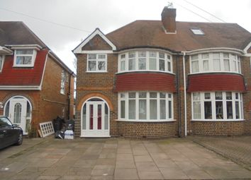 Thumbnail 3 bed semi-detached house to rent in Stonor Road, Hall Green