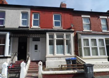Thumbnail 4 bedroom terraced house to rent in St Pauls Road, Blackpool