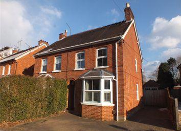 Thumbnail 4 bed semi-detached house for sale in Aldershot Road, Church Crookham, Fleet, Hampshire