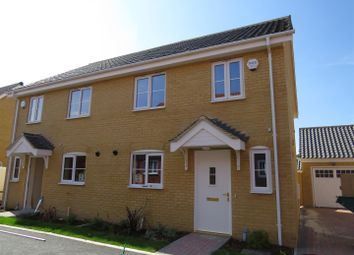 Thumbnail 3 bed property to rent in Pickton Close, Poringland, Norwich