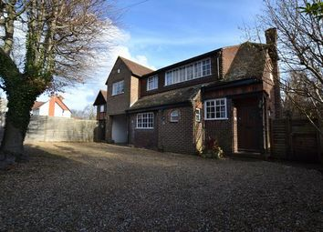 Thumbnail 4 bed detached house to rent in Kent Road, Fleet