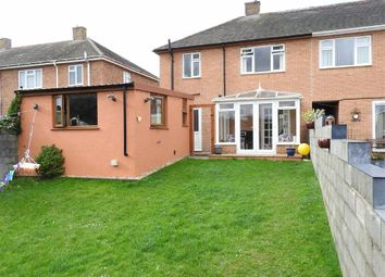 Thumbnail 3 bed semi-detached house for sale in Heol Y Garth, Penparcau, Aberystwyth