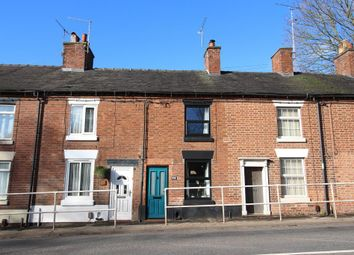 Thumbnail 1 bed terraced house to rent in Longton Road, Stone, Staffordshire