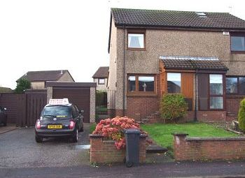 Thumbnail 2 bedroom semi-detached house to rent in Rennell Road, Dundee