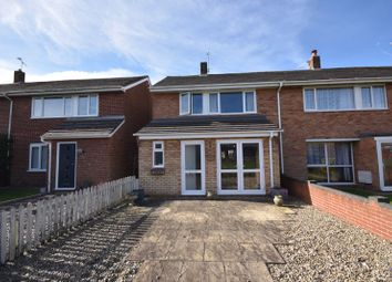 Thumbnail 4 bed end terrace house for sale in Blithewood Gardens, Sprowston, Norwich