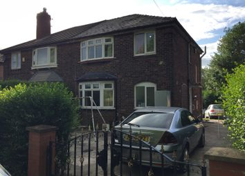 Thumbnail 3 bed semi-detached house for sale in Errwood Road, Burnage, Manchester