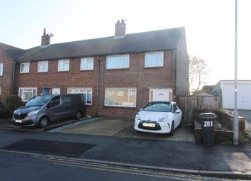 Thumbnail 3 bed end terrace house to rent in Brodrick Road, Eastbourne