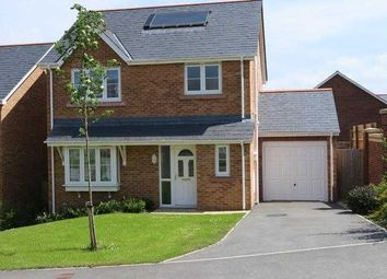 Thumbnail 3 bed detached house to rent in Llys Adda, Bangor