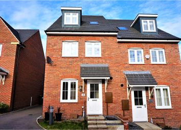 Thumbnail 4 bed semi-detached house for sale in Glasgow Close, Church Gresley, Swadlincote