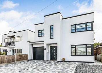 Thumbnail 4 bed detached house for sale in West Park Crescent, Billericay
