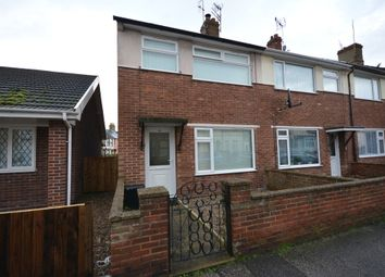 Thumbnail 2 bedroom end terrace house to rent in Lorne Park Road, Lowestoft