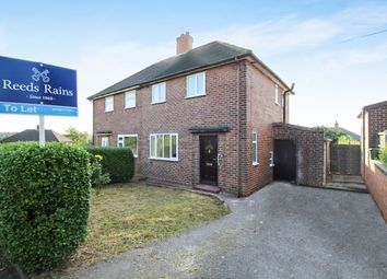 Thumbnail 2 bed semi-detached house to rent in Gainsborough Road, Newcastle-Under-Lyme