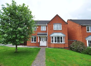 Thumbnail 4 bed detached house for sale in Hargate Road, Stapenhill, Burton-On-Trent
