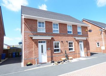 Thumbnail 3 bed semi-detached house for sale in Horseshoe Drive, Buckshaw Village, Chorley