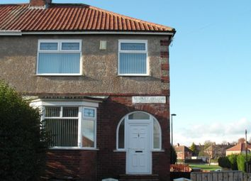 Thumbnail 3 bedroom flat to rent in Shipley Avenue, Fenham, Newcastle Upon Tyne