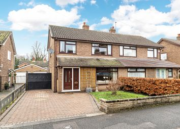 Thumbnail 3 bedroom semi-detached house for sale in Cuerdon Drive, Thelwall, Warrington
