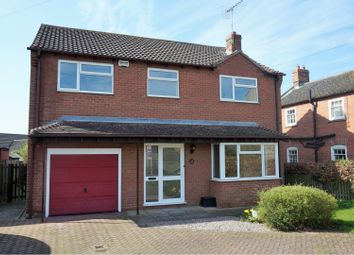 Thumbnail 4 bed detached house for sale in Hall Road, Sleaford
