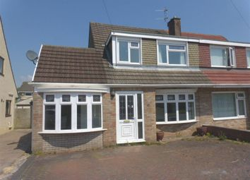 Thumbnail 3 bed semi-detached house for sale in Mountain View, North Cornelly, Bridgend