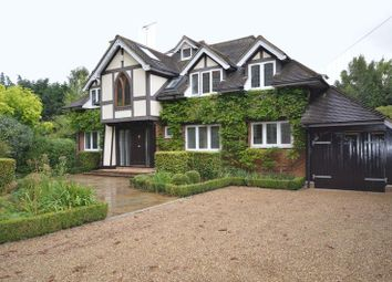 Thumbnail 4 bed detached house to rent in Bisham Road, Marlow