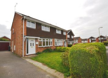Thumbnail 3 bedroom semi-detached house for sale in Warwick Close, Market Drayton
