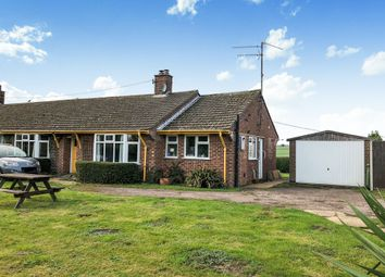 Thumbnail 3 bedroom semi-detached bungalow for sale in Downham Road, Salters Lode, Downham Market
