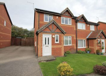 Thumbnail 3 bed semi-detached house for sale in Barbary Close, Pelton, Chester Le Street