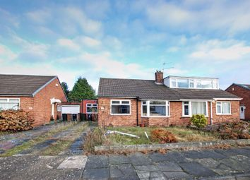 Thumbnail 3 bed semi-detached bungalow for sale in Blanchland Avenue, Wideopen, Newcastle Upon Tyne
