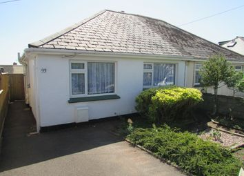 Thumbnail 2 bed semi-detached bungalow to rent in Barton Avenue, Paignton