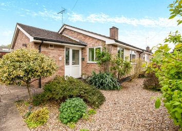 Thumbnail 2 bedroom semi-detached bungalow for sale in Cedar Road, Barrow, Bury St. Edmunds