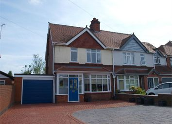 Thumbnail 3 bed semi-detached house for sale in Claymills Road, Stretton, Burton-On-Trent, Staffordshire