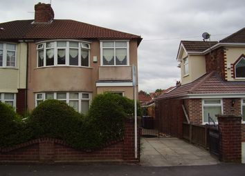 Thumbnail 3 bed semi-detached house to rent in Edna Avenue, Liverpool