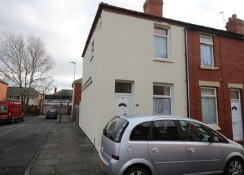 Thumbnail 2 bedroom end terrace house for sale in Laburnum Street, Layton, Blackpool, Lancashire
