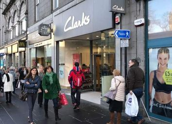 Thumbnail Retail premises for sale in Union Street, Aberdeen