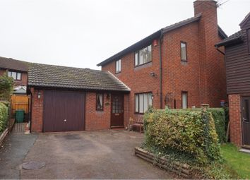 Thumbnail 3 bed detached house for sale in Waverton Way, Shrewsbury