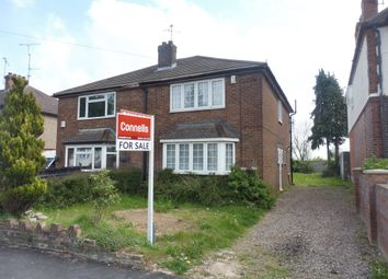 Thumbnail 3 bedroom semi-detached house for sale in Leicester Road, Luton