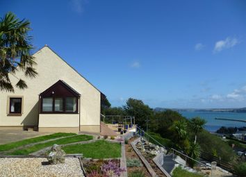 Thumbnail 4 bedroom detached bungalow for sale in Maenwen, Glan-Y-Mor Road, Goodwick, Pembrokeshire