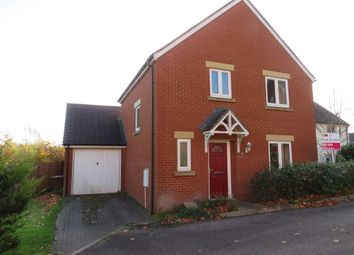 Thumbnail 3 bed detached house for sale in Mercers Close, Tiverton